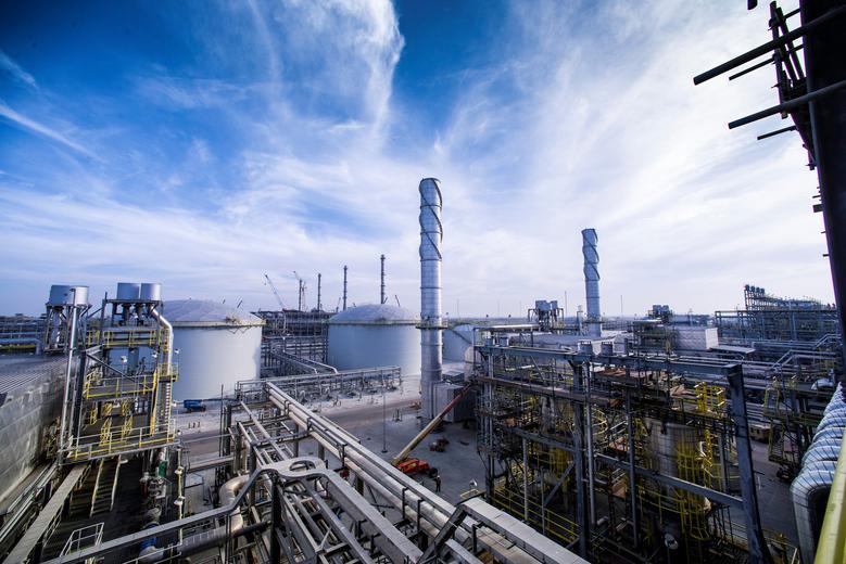 A view shows Saudi Aramco's Wasit Gas Plant, Saudi Arabia December 8, 2014. Photo courtesy of Saudi Aramco/Handout via REUTERS