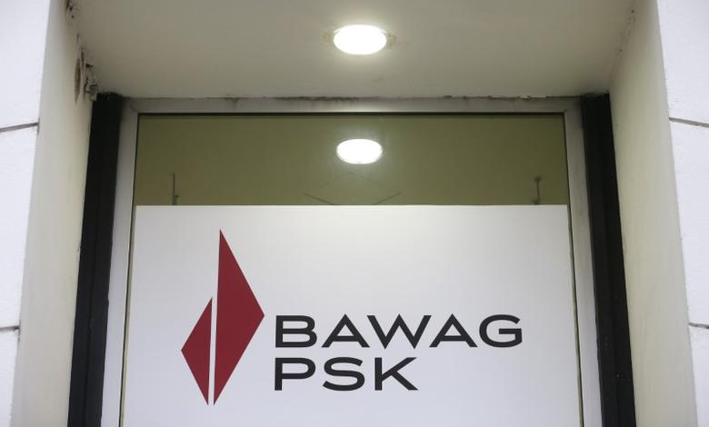 The logo of Austrian lender BAWAG PSK is pictured at a branch office in Vienna, Austria, February 29, 2016. REUTERS/Heinz-Peter Bader