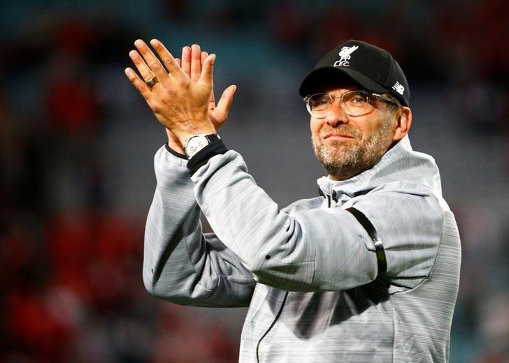 Soccer Football - Liverpool Tour - Sydney FC vs Liverpool - Sydney, Australia - 24/5/17 - Liverpool's coach Juergen Klopp reacts at the end of the match. REUTERS/David Gray