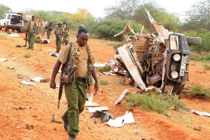 Image result for Five Police officers killed, one injured in Kenya's Liboi attack