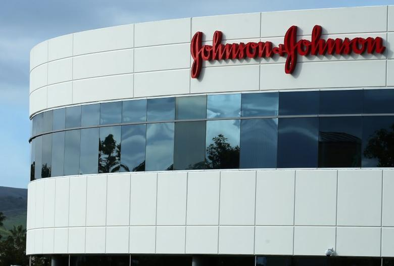 A Johnson & Johnson building is shown in Irvine, California, U.S., January 24, 2017.   REUTERS/Mike Blake
