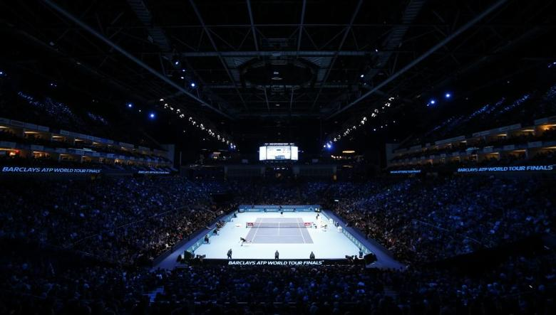 FILE PHOTO - Tennis Britain - Barclays ATP World Tour Finals - O2 Arena, London - 20/11/16 General view of Great Britain's Andy Murray during the final against Serbia's Novak Djokovic Action Images via Reuters / Paul Childs Livepic