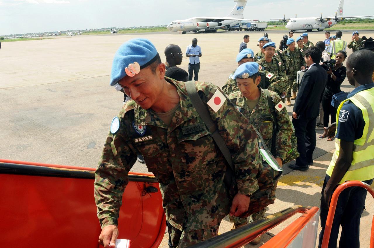 Last Japanese troops leave U N  peacekeeping mission in South Sudan