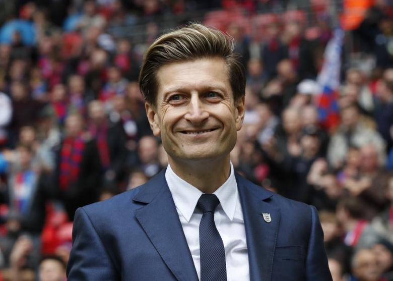 Football Soccer - Crystal Palace v Watford - FA Cup Semi Final - Wembley Stadium - 24/4/16Crystal Palace chairman Steve Parish before the matchReuters / Eddie KeoghLivepicEDITORIAL USE ONLY. No use with unauthorized audio, video, data, fixture lists, club/league logos or ''live'' services. Online in-match use limited to 45 images, no video emulation. No use in betting, games or single club/league/player publications.  Please contact your account representative for further details. - RTX2BF68