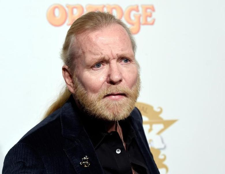 FILE PHOTO --  Gregg Allman poses during 10th annual ''Classic Rock Roll of Honour'' awards in Los Angeles, California November 4, 2014. REUTERS/Kevork Djansezian/File Photo