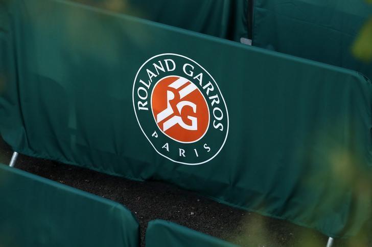 Tennis - French Open - Roland Garros - Paris, France - 23/05/16. Roland Gorros logo. REUTERS/Benoit Tessier