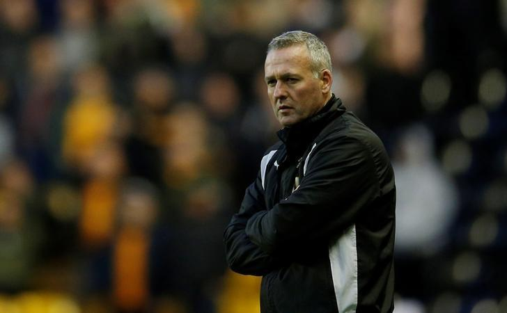 Britain Football Soccer - Wolverhampton Wanderers v Huddersfield Town - Sky Bet Championship - Molineux - 25/4/17. Wolves manager Paul Lambert. Action Images / Andrew Couldridge/ Livepic/ Files