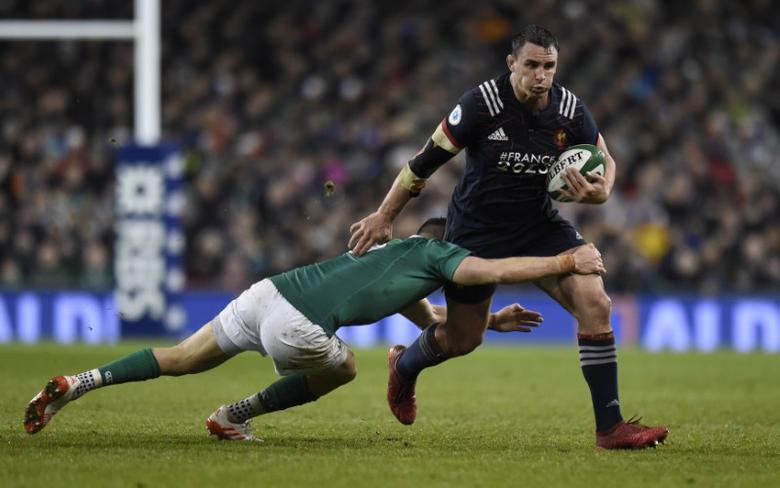 Rugby Union - Ireland v France - Six Nations Championship - Aviva Stadium, Dublin, Republic of Ireland - 25/2/17 Ireland's Conor Murray in action with France's Louis Picamoles Reuters / Clodagh Kilcoyne Livepic