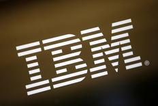 Logo da IBM 22/04/2016 REUTERS/Lucy Nicholson