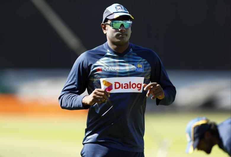 Britain Cricket - Sri Lanka Nets - The Oval - 25/5/17 Sri Lanka's Angelo Mathews during nets Action Images via Reuters / John Sibley Livepic