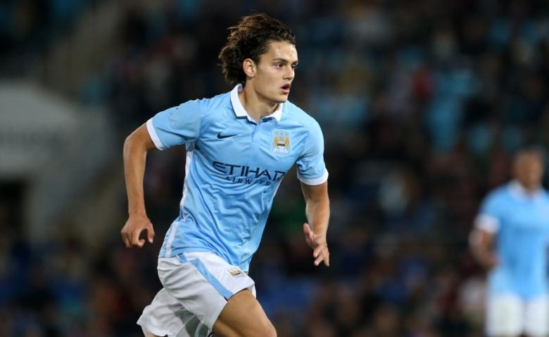 Football - Melbourne City v Manchester City - Pre Season Friendly - CBus Super Stadium, Gold Coast, Australia - 18/7/15 Manchester City's Enes Unal in action Action Images via Reuters / Jason O'Brien Livepic EDITORIAL USE ONLY.