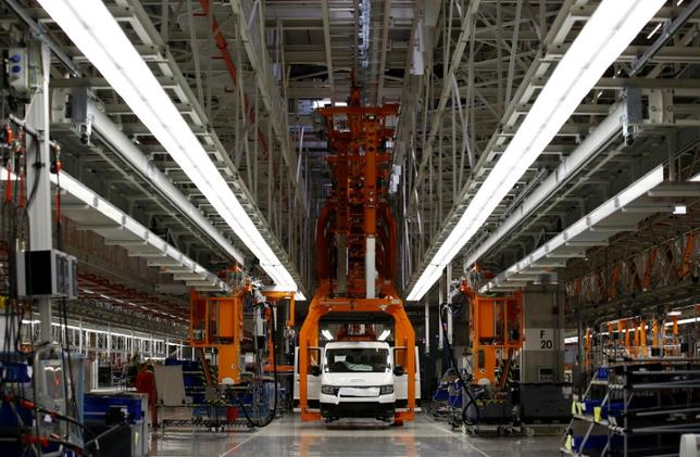 FILE PHOTO: A new Volkswagen Crafter production line is seen at the newly opened Volkswagen factory in Wrzesnia near Poznan, Poland September 9, 2016. REUTERS/Kacper Pempel