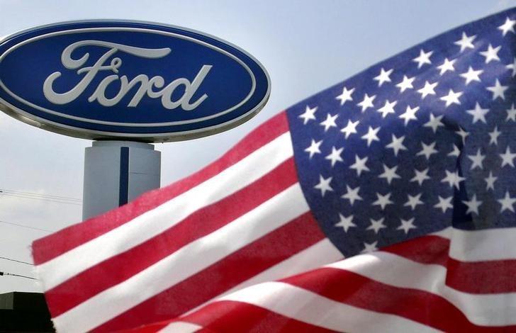 资料图片:2009年8月,美国弗吉尼亚州Manassas一家福特汽车经销店。REUTERS/Larry Downing