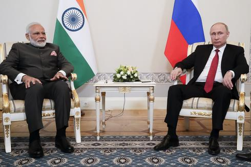 Narendra Modi in Russia
