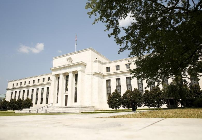 The Federal Reserve building in Washington September 1,  2015.  REUTERS/Kevin Lamarque