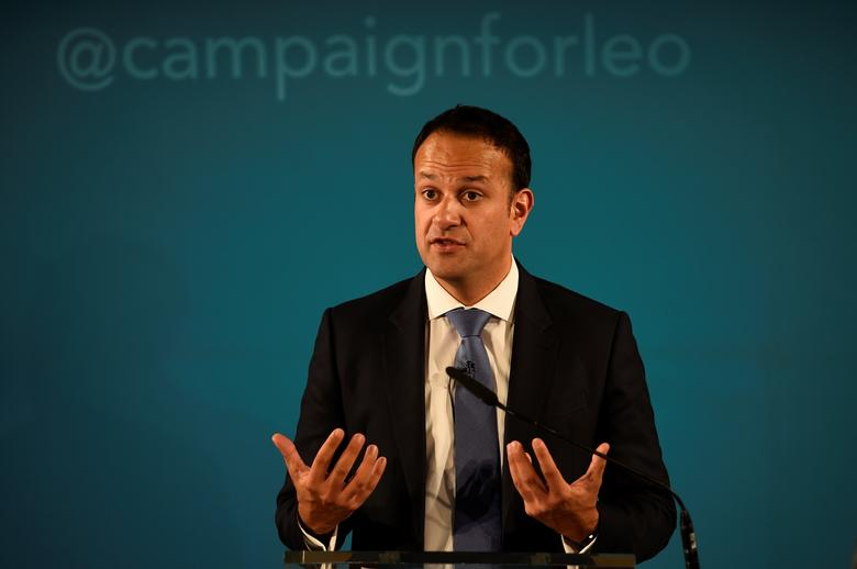 File Picture - Ireland's Minister for Social Protection Leo Varadkar launches his campaign bid for Fine Gael party leader in Dublin, Ireland May 20, 2017. REUTERS/Clodagh Kilcoyne