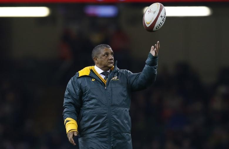 Rugby Union Britain - Wales v South Africa - Principality Stadium, Cardiff, Wales - 26/11/16 South Africa Head Coach Allister Coetzee before the match  Action Images via Reuters / Paul Childs Livepic