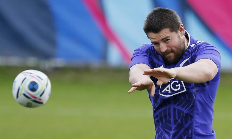 FILE PHOTO: Rugby Union - New Zealand Training - Swansea University, Wales - 15/10/15 New Zealand's Dane Coles during training Action Images via Reuters / Peter Cziborra Livepic