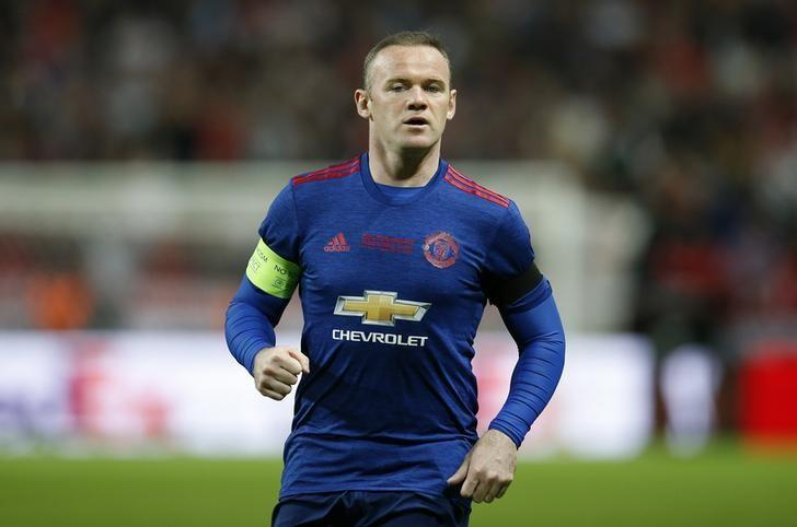 Football Soccer - Ajax Amsterdam v Manchester United - UEFA Europa League Final - Friends Arena, Solna, Stockholm, Sweden - 24/5/17 Manchester United's Wayne Rooney Reuters / Andrew Couldridge/ Livepic/ Files