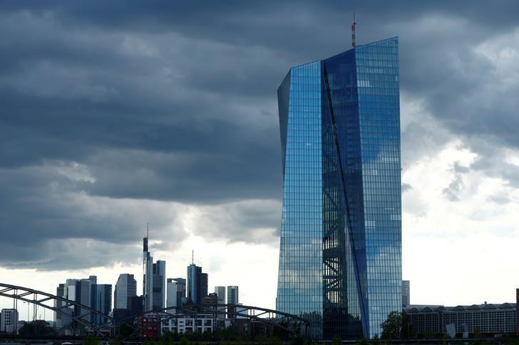 The European Central Bank (ECB) headquarters in Frankfurt, Germany, July 29, 2016.   REUTERS/Ralph Orlowski/File Photo