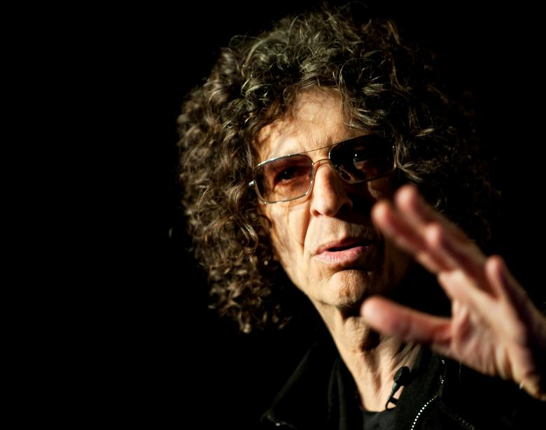 FILE PHOTO - Radio/TV personality Howard Stern speaks during a news conference in New York City May 10, 2012.  REUTERS/Stephen Chernin/File photo