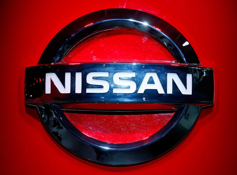 FILE PHOTO --  The Nissan logo is seen at the 2017 New York International Auto Show in New York City, U.S. April 12, 2017. REUTERS/Brendan Mcdermid/File Photo