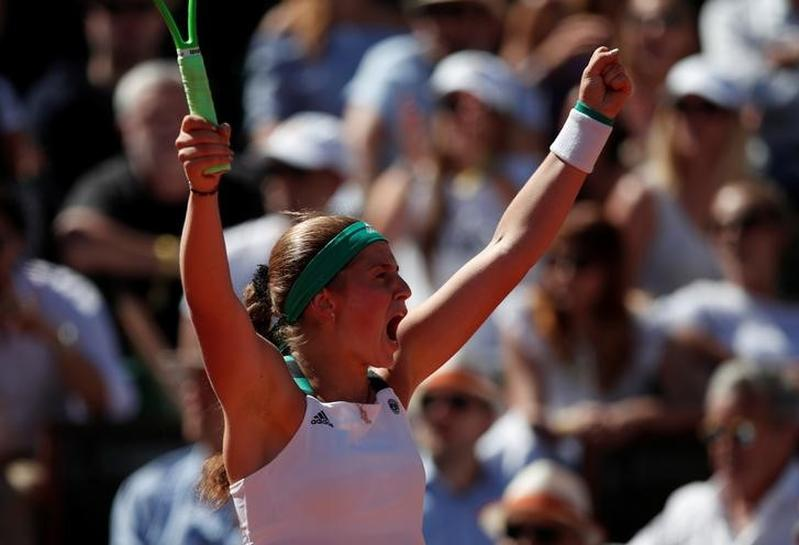 Latvia's Ostapenko wins French Open title