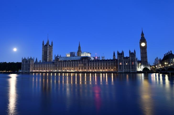 2017年6月9日,伦敦,清晨的英国议会大厦。REUTERS/Hannah McKay