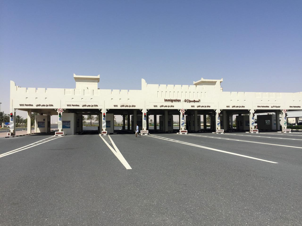Qatar-Saudi land border deserted after frontier shut - Reuters
