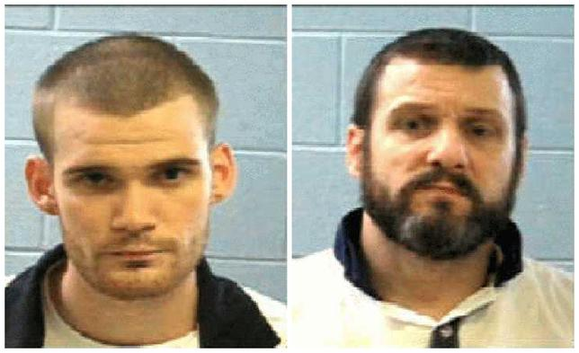 Two escaped inmates Ricky Dubose (L) and Donnie Russell Rowe (R) are seen in these Georgia Department of Corrections photos released after their escapte from Putnam County, southeast of Atlanta, Georgia, U.S., June 13, 2017.   Courtesy Georgia Corrections/Handout via REUTERS