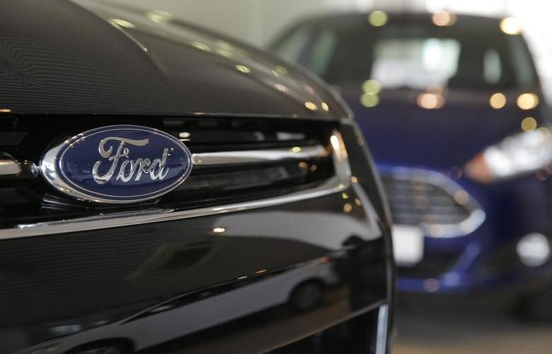 Ford cars are on sale at a dealership of Genser company in Moscow, Russia, February 14, 2017. REUTERS/Maxim Shemetov