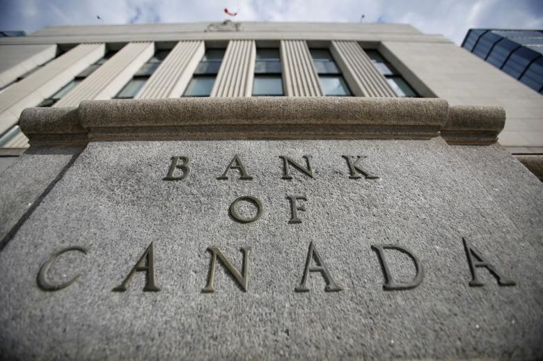 A sign is pictured outside the Bank of Canada building in Ottawa, Ontario, Canada, May 23, 2017. REUTERS/Chris Wattie - RTX37AVP