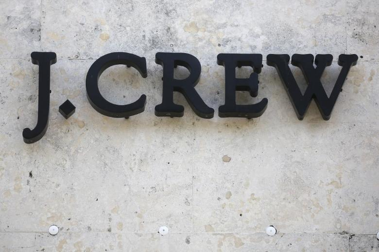 A J.Crew store logo is pictured on a building along the Lincoln Road Mall in Miami Beach, Florida March 17, 2016. REUTERS/Carlo Allegri
