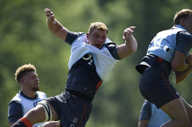 Britain Rugby Union - England Training - Pennyhill Park, Bagshot, Surrey - 25/5/17 England's Sam Underhill during training Action Images via Reuters / Adam Holt Livepic