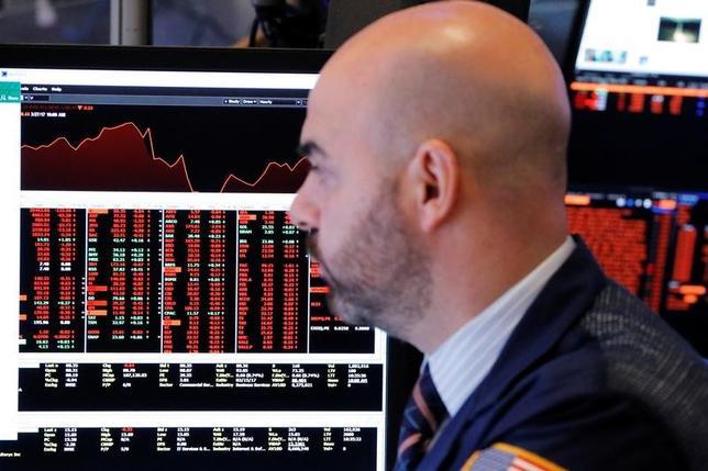 6月15日、米国株式市場は、主要株価指数が下落して取引を終えた。3月撮影(2017年 ロイター/Lucas Jackson)