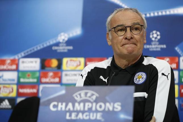 6月15日、サッカーのフランス1部、ナントは、イングランド・プレミアリーグでレスター前監督のクラウディオ・ラニエリ氏(65)が、新監督に就任することを発表した。2月撮影(2017年 ロイター)