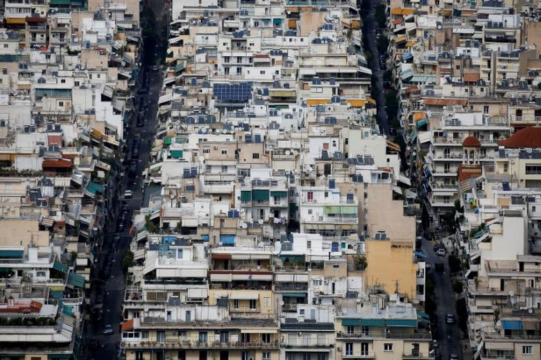 FILE PHOTO: A view of the cityscape of Athens, Greece, March 26, 2017. REUTERS/Alkis Konstantinidis/File Photo