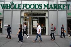 Supermercado Whole Foods em Nova York. 16/06/2017 REUTERS/Carlo Allegri