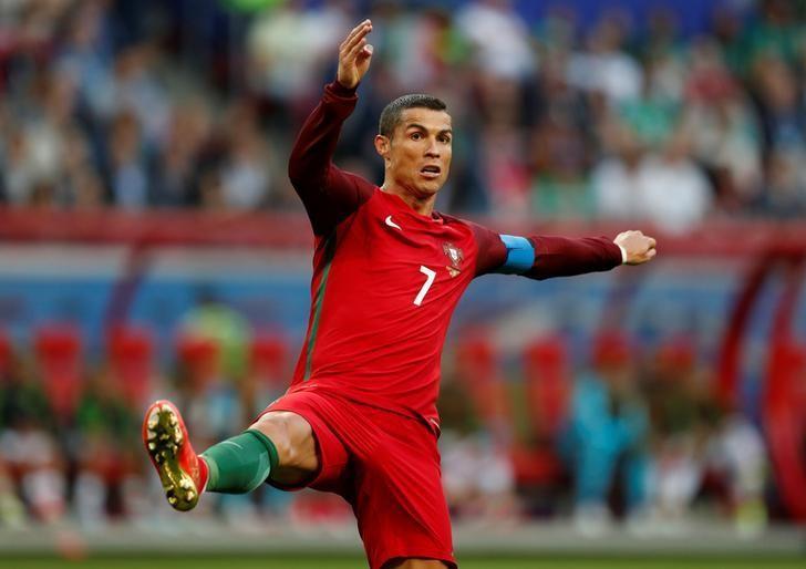 Soccer Football - Portugal v Mexico - FIFA Confederations Cup Russia 2017 - Group A - Kazan Arena, Kazan, Russia - June 18, 2017   Portugal's Cristiano Ronaldo    REUTERS/ John Sibley