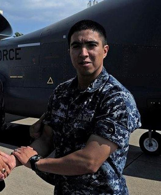 Gunner's Mate 2nd Class Noe Hernandez, 26, from Weslaco, Texas, one of the dead sailors identified by the U.S. Navy from a collision between the U.S. Navy destroyer USS Fitzgerald and Philippine-flagged merchant vessel, is seen in this undated handout photo released by the U.S. Navy on June 19, 2017. Courtesy of U.S. Navy/Handout via REUTERS