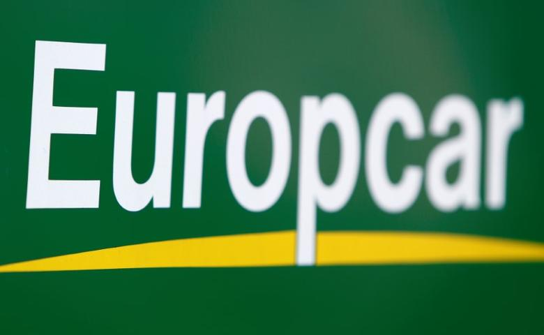 The logo of Europcar rental company is pictured in Ulm, Germany, April 6, 2017.  REUTERS/Michaela Rehle - RTS1351E