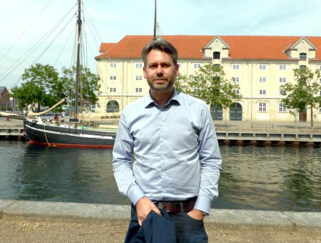 Denmark's tech ambassador Casper Klynge poses for a picture in Copenhagen, Denmark, June 15 2017. REUTERS/Stine Jacobsen