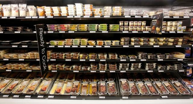 Ready to eat meals are displayed  at an outlet of retailer Shoprite Checkers in Cape Town, South Africa, June 15, 2017. REUTERS/Mike Hutchings