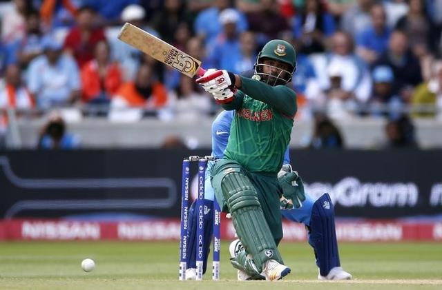 Britain Cricket - India v Bangladesh - 2017 ICC Champions Trophy Semi Final - Edgbaston - June 15, 2017 Bangladesh's Tamim Iqbal in action Action Images via Reuters / Paul Childs Livepic