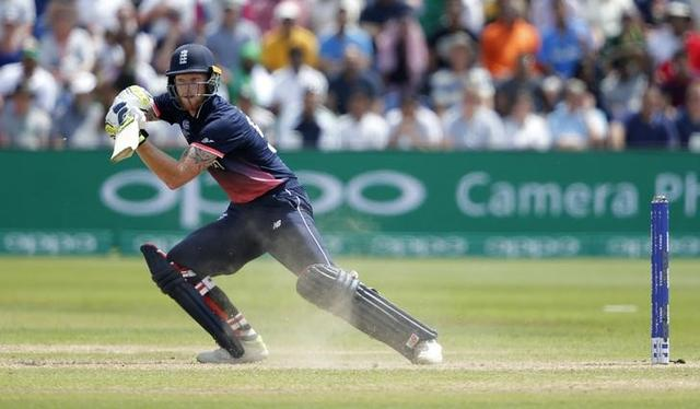 Britain Cricket - England v Pakistan - 2017 ICC Champions Trophy Semi Final - Sophia Gardens - June 14, 2017 England's Ben Stokes in action Action Images via Reuters / Andrew Couldridge Livepic