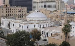 مجلس النواب المصري في القاهرة - صورة من أرشيف رويترز.