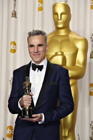 6月20日、アカデミー賞で3度主演男優賞を獲得した俳優ダニエル・デイ・ルイス(60)が引退すると広報担当者が明らかにした。写真は2013年2月撮影(2017年 ロイター/Mike Blake)