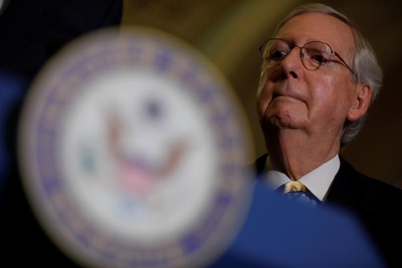在特朗普会晤后,参议院共和党人对医疗保健法案表示乐观