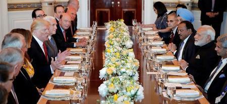 البيت الأبيض: ترامب ومودي يصفان كوريا الشمالية بالتهديد الخطير للسلام