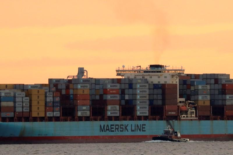 Maersk Says Global IT Breakdown Caused By Cyber Attack - Maersk invoice tracking